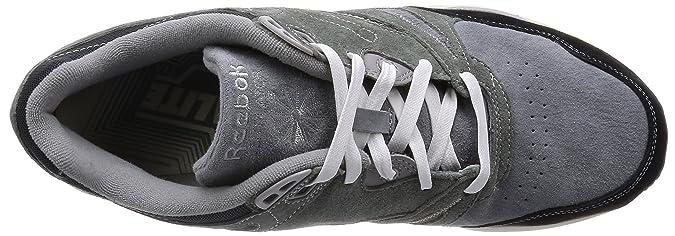 Reebok - Botines Hombre, Color Gris, Talla 41 EU: Amazon.es: Zapatos y complementos