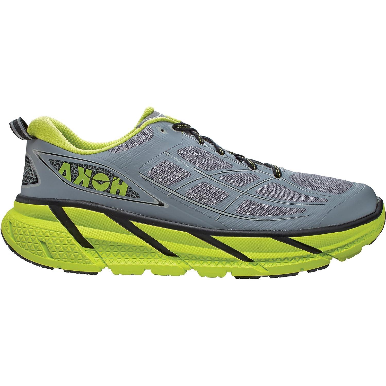 Clifton 2 Running Shoes GREY / ACID