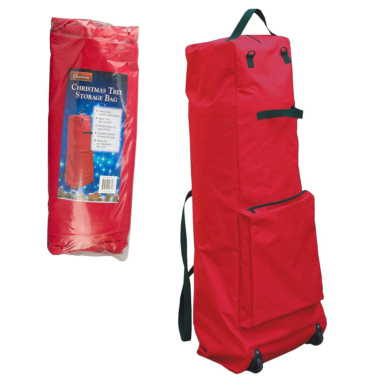 Amazon.com: Christmas Tree Storage Bag with Wheels - XL Heavy Duty ...
