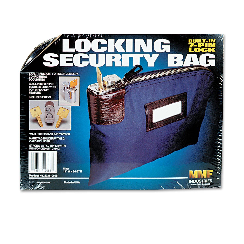 MMF233110808 - Seven-Pin Security/Night Deposit Bag w/2 Keys