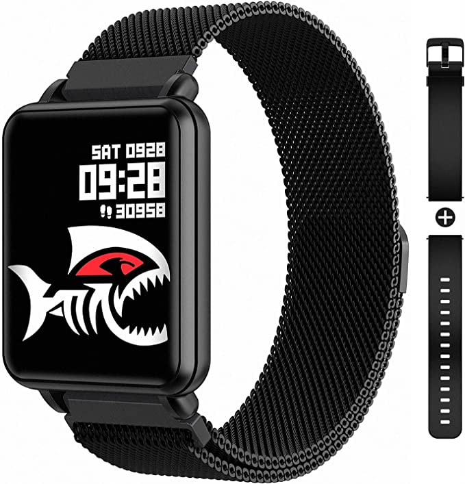 COLMI Smart Watch Full Touchscreen Smartwatch for Women Men, IP68 Waterproof Fitness Tracker Compatible with iPhone Andriod, Bluetooth Pedometer, ...