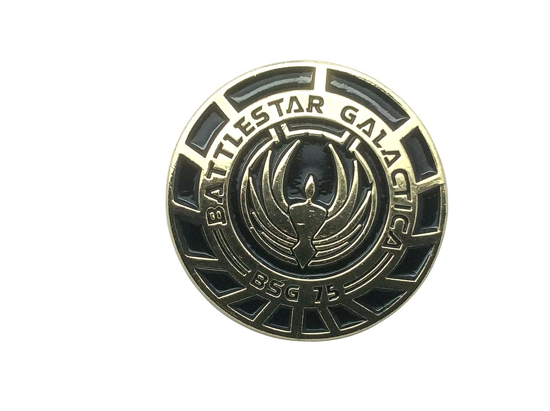 Battlestar Galactica BSG 75 Officer Metal Pin Badge