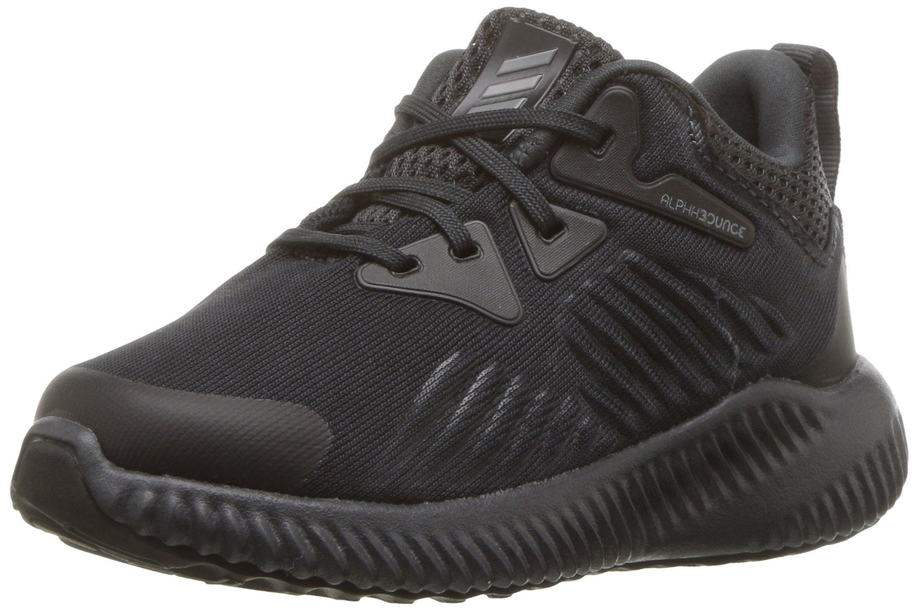 adidas Unisex Alphabounce Beyond Running Shoe, Carbon/Grey/Black, 6 M US Big Kid