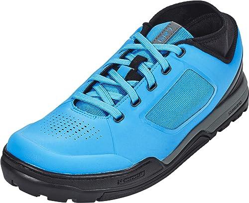 SHIMANO - Zapatillas de Ciclismo para Hombre Azul 40 EU: Amazon.es: Zapatos y complementos