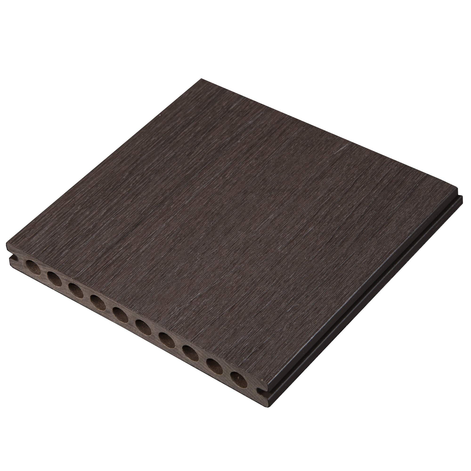 4'' Sample - Caribou 3G Wide Composite Decking - NO Sleeve