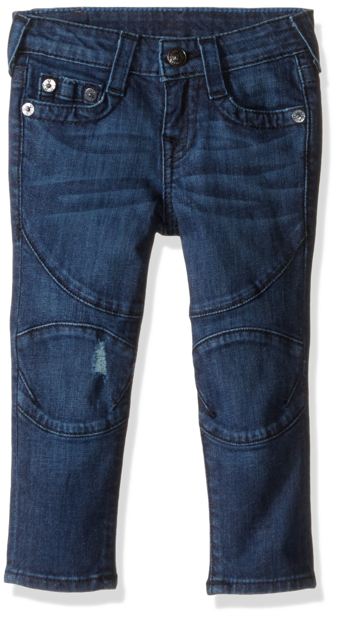 True Religion Boys' Ricky Super T Jeans, Solaris Wash, 12