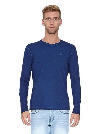 Lois Camiseta Manga Larga Fenix Equal Azul L: Amazon.es: Ropa y ...