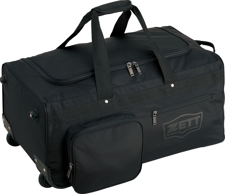 ZETT(ゼット) 野球 遠征バッグ 兼 防具ケース キャスター付 BA768 ブラック(1900) B078N4CL2R