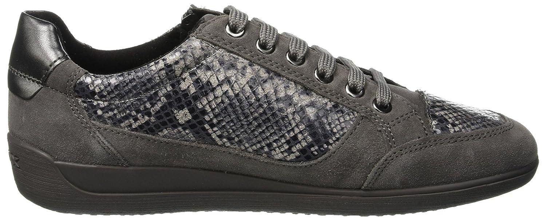 Geox D Myria A, Zapatillas para Mujer, (Dk Grey C9002), 40 EU