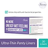 Sirona Anti bacterial Ultra Thin Panty Liners - 30 Pieces