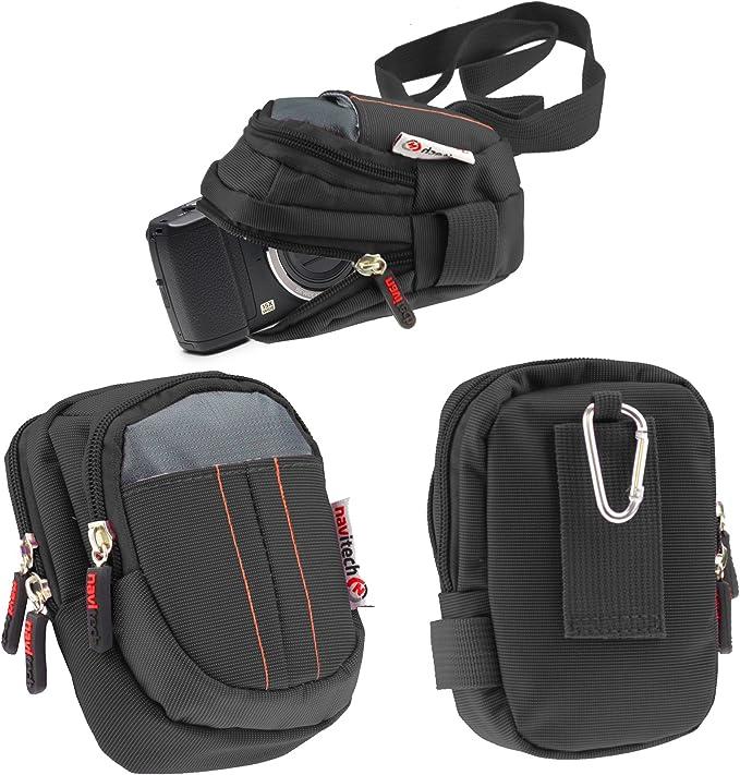 Navitech Schwarze Digital Kamera Tasche Für Das Kodak Elektronik