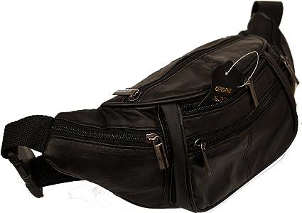Homme Noir Pour Poches Piotrstrade Bag Ceinture Mi Femme Réglable Cuir Banane Nappa Sac Et En Doggy 4 f6vYb7gy