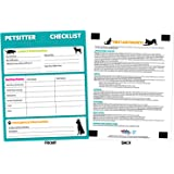 amazon com pet sitter information with pet first aid laminated