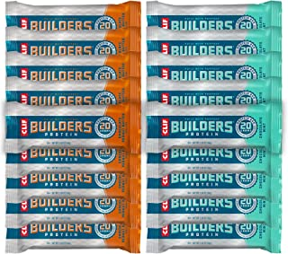 product image for Clif Builders Protein Bar Variety Pack, 18 Count, Pack of 1
