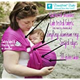 Amazon Price History for:Beachfront Baby Sling – Versatile Water & Warm Weather Ring Sling Baby Carrier | Made in USA with Safety Tested Fabric & Aluminum Rings | Lightweight, Quick Dry & Breathable (One Size,Passionberry)