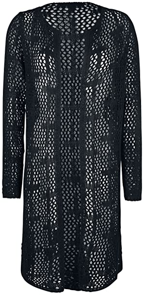 Gothicana by EMP For A Taste Of Eternity Cardigan chica Negro cULohCAtS