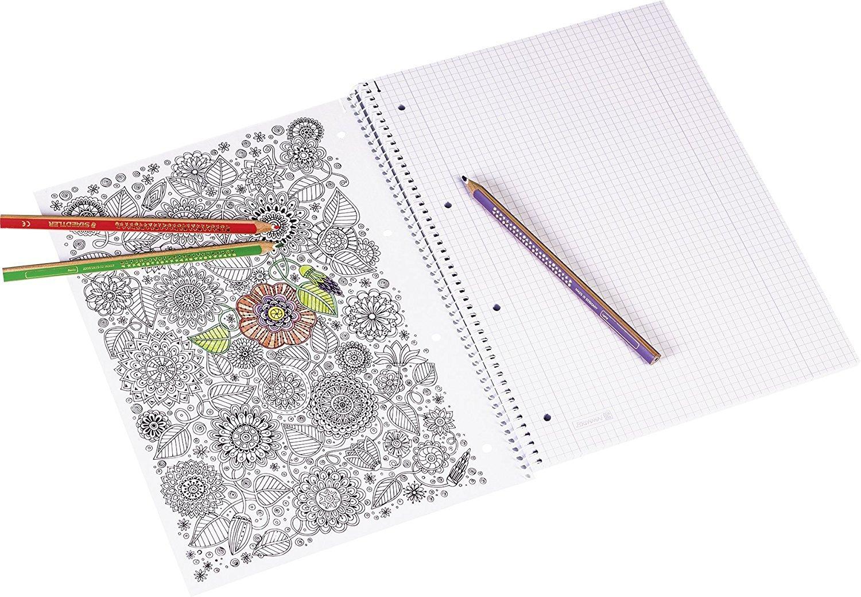 Colores Surtidos Brunnen 104793202/Vivendi/ /Bloc de dibujo A3, 150/g//m/², 20/hojas
