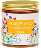 Meadow Gold Pure Raw Honey - Wild Flowers - Polyfloral - 1.1 Kg