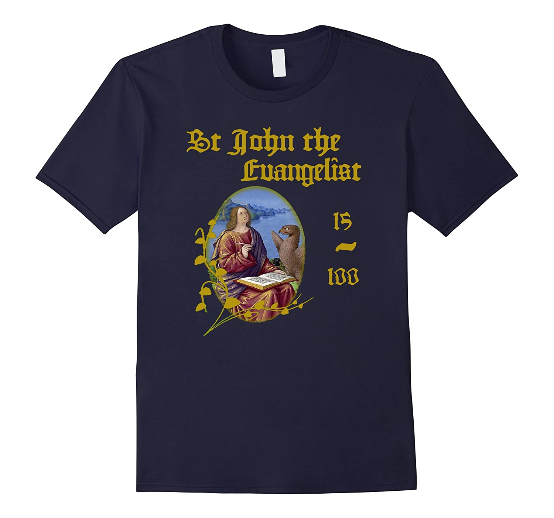 Saint john the Evangelist T-Shirt Catholic Saints T-Shirts-TH
