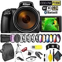 Nikon COOLPIX P1000 Digital Camera Professional Kit International Model