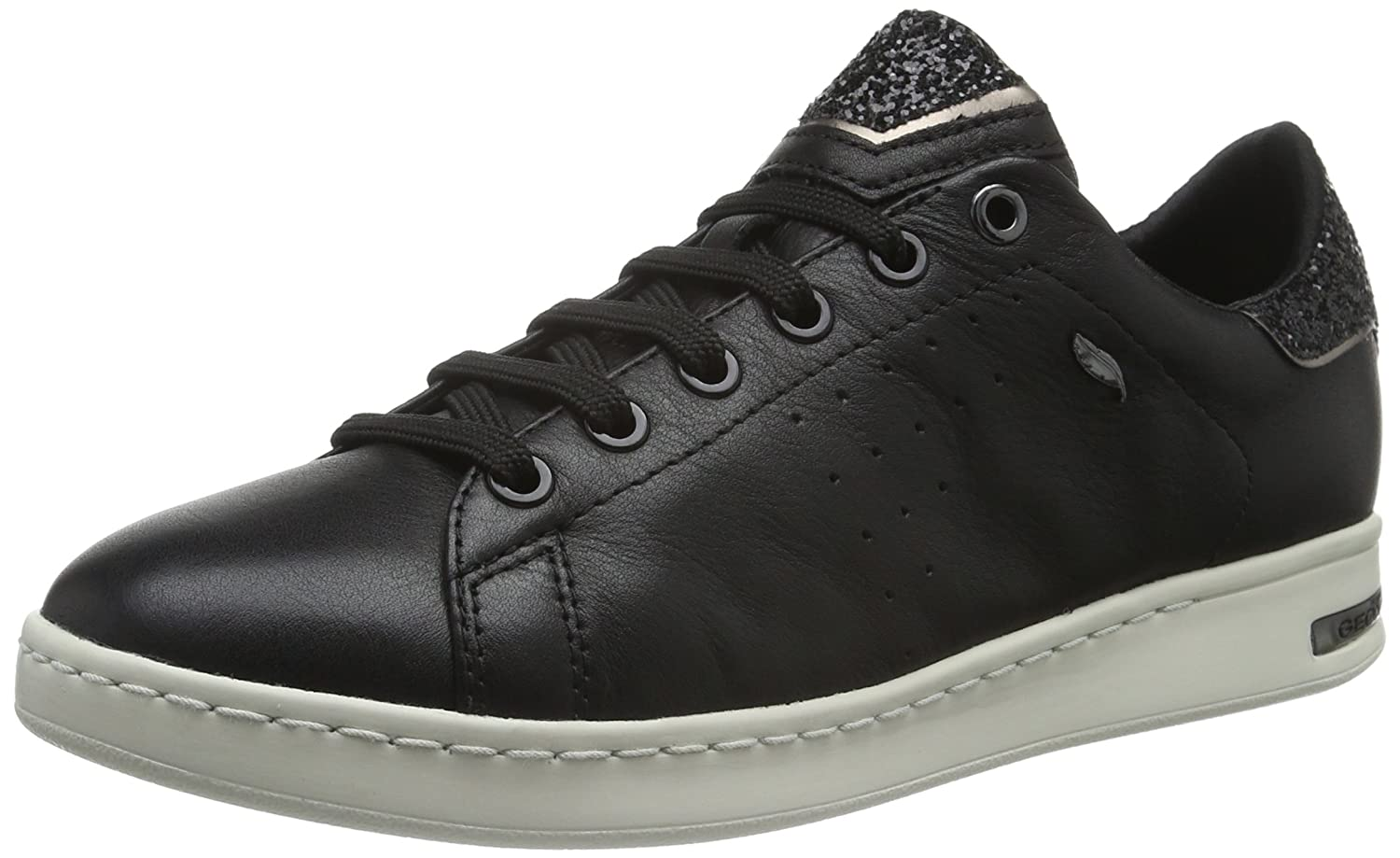 Black Geox Women's D Jaysen A Casual Sport Sneakers