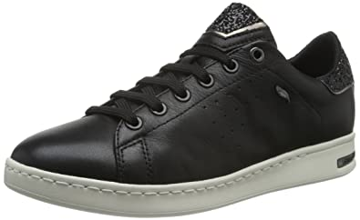 Geox Jaysen A Damen Sneaker in schwarz weiß FTXWRhFk3