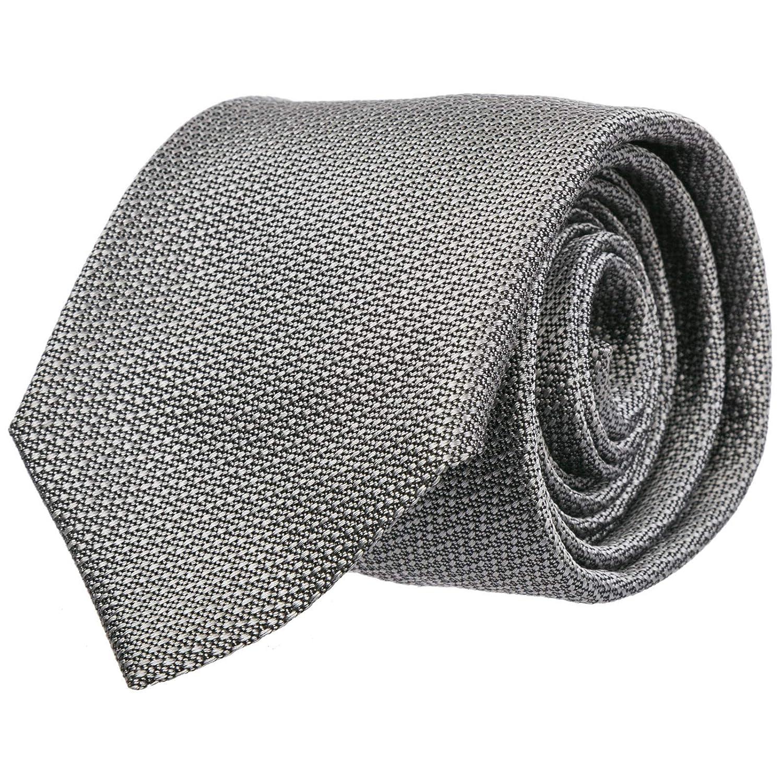 Emporio Armani corbata hombre grigio: Amazon.es: Ropa y accesorios