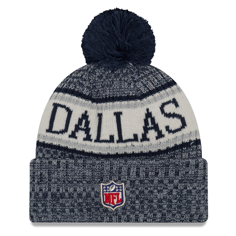 875d32bfdeedda Amazon.com : New Era Dallas Cowboys Sport Knit NFL Beanie Unisex Hat Navy  Blue/Gray, OSFM : Sports & Outdoors