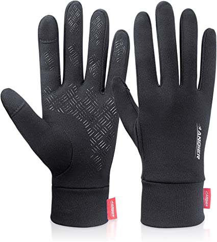 Premium Polar Fleece Gloves Touch Screen Nonslip Cycling Driving Size XXS--XL