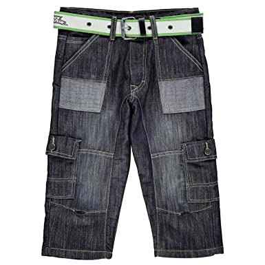 6e75ce8b91 Amazon.com: No Fear Boys Belted Cargo Shorts: Clothing
