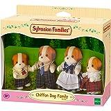 Sylvanian Families - 3139 - Famille Chien Chiffon - Mini-Poupée