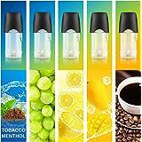 myblu 互換 フレーバーポッド 5種風味 メンソール ビタミン配合 リキッド 集合② マウスピース付き ARASHI