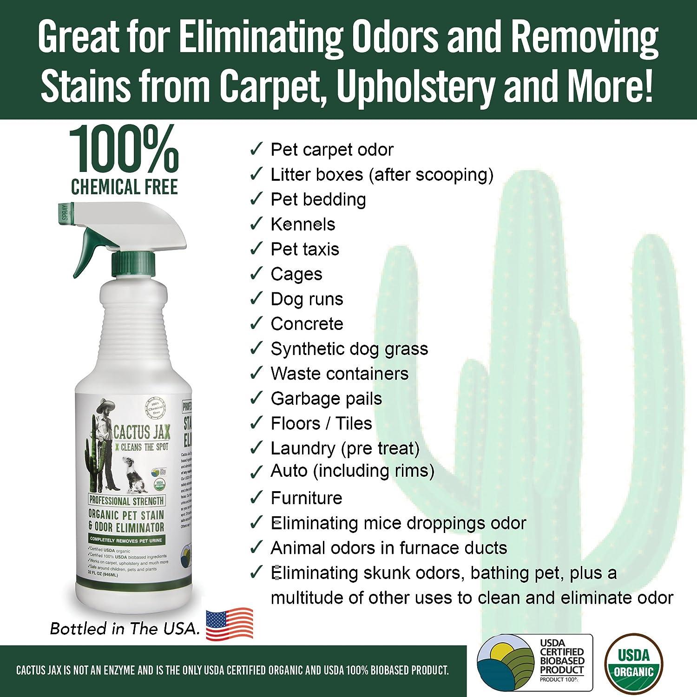 Cactus Jax Professional Strength Pet Stain and Odor Eliminator
