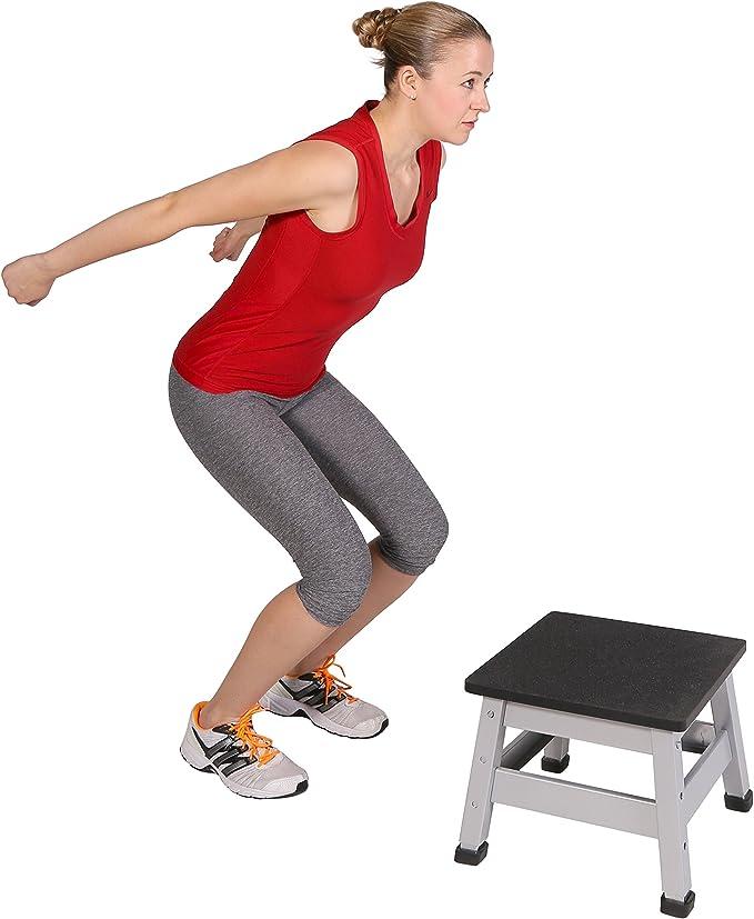 SportPlus Plyobox - Caja Pliométrica – Cajón Fitness - Caja de Saltos Crossfit – Altura Regulable – MAX Carga 120 Kg: Amazon.es: Deportes y aire libre