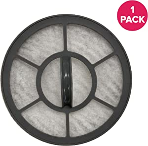 Think Crucial Exhaust Motor Filter Replacement Filter Part# EF-7 091541 Compatible with Eureka Vacuum Models AS3001A, AS3008A, AS3011A AS3030A, Fits Brushroll, Bulk (1 Pack)