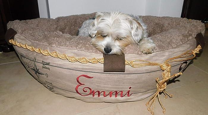 LunaChild Hundebett Hund Boot Böötchen Hundeboot Sofa Hundebett ...