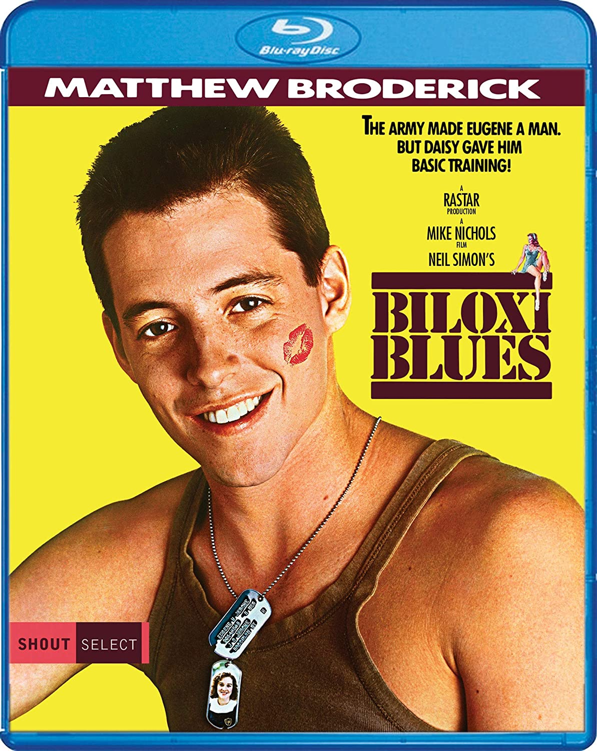 Amazon Com Biloxi Blues Blu Ray Matthew Broderick Christopher