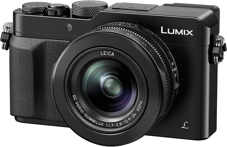 Panasonic Lumix LX100 NOIR - Cámara (Pantalla LCD 3.03 920 K ptsroles directos y NFC, LCD) negro [Versión Importada]