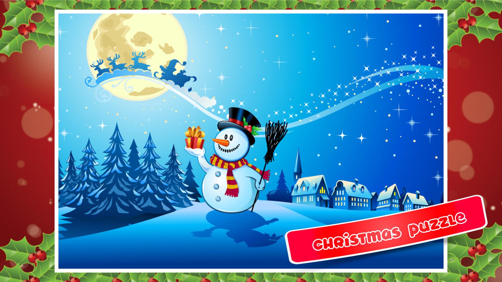 Amazon Com Fun Christmas Wonderland Puzzle Game A
