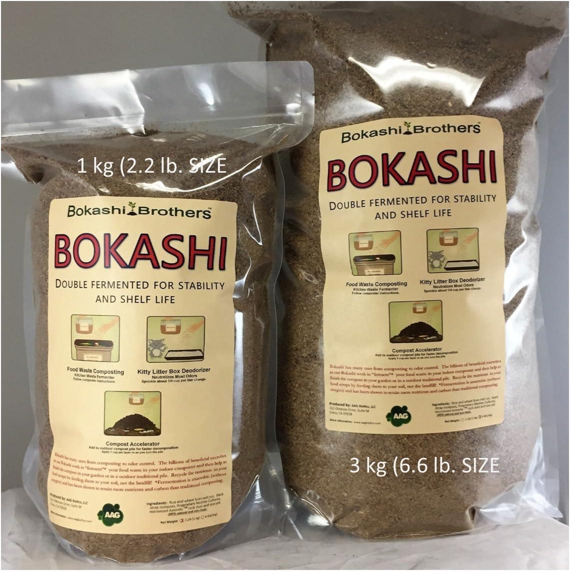 Amazon.com: Bokashi Brothers Bokashi Bolsa: Jardín y Exteriores
