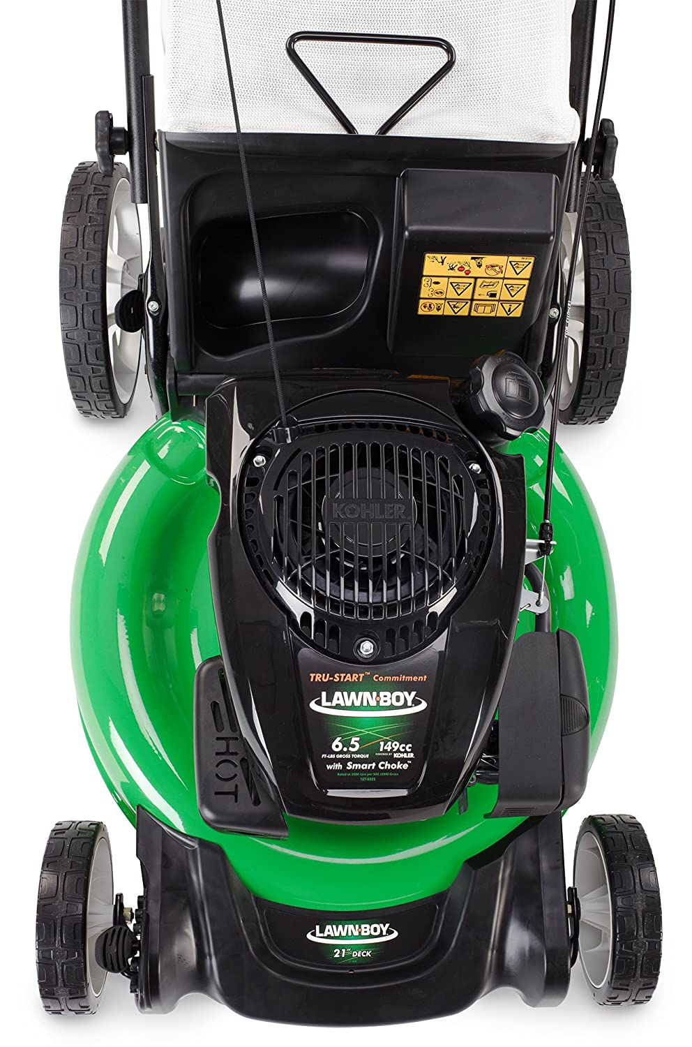 Lawn-Boy 10730 Kohler XT6 OHV High Wheel Push Gas Lawn Mower, 21-Inch:  Amazon.ca: Patio, Lawn & Garden