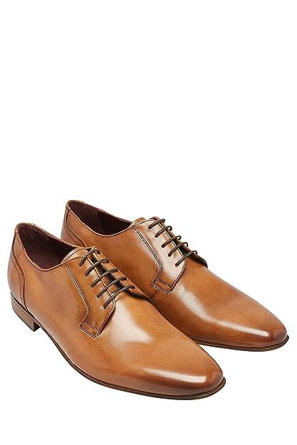 next Hombre Zapatos De Vestir Finos Signature Bronceado EU 47: Amazon.es: Zapatos y complementos