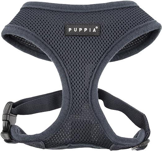 Harnais pour chien Puppia Soft Veste Gris Gris Taille XS