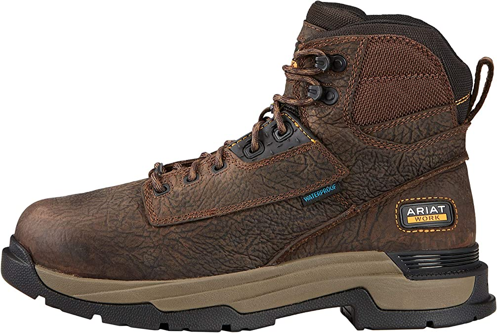 "Waterproof Composite Toe Work Boots Mens ARIAT MasterGrip 6/"""