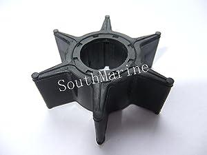 SouthMarine 6H3-44352-00 697-44352-00 18-3069 Boat Impeller for Yamaha 40hp 50hp 55hp 60hp 70hp Outboard Motors Ship from USA