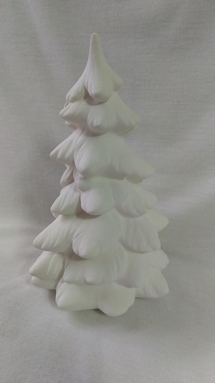 Village House Tree 4 Ceramic Bisque CreativeKreationsCeramics