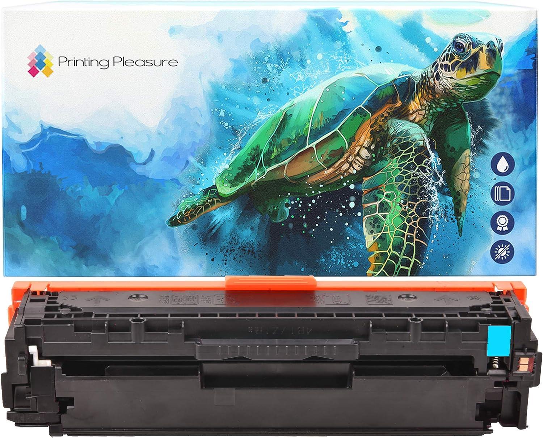 Printing Pleasure Cyan Compatible Laser Toner Cartridge for HP Colour Laserjet Pro 300 M351A MFP M375NW Pro 400 M451DN/DW/NW MFP M475DN/DW | CE411A 305X 305A