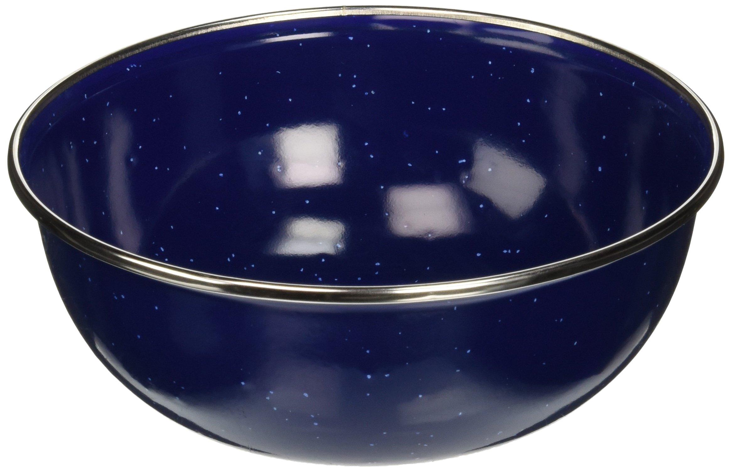 Stansport S.S. Edge Enamel Mixing Bowl, 5.75''