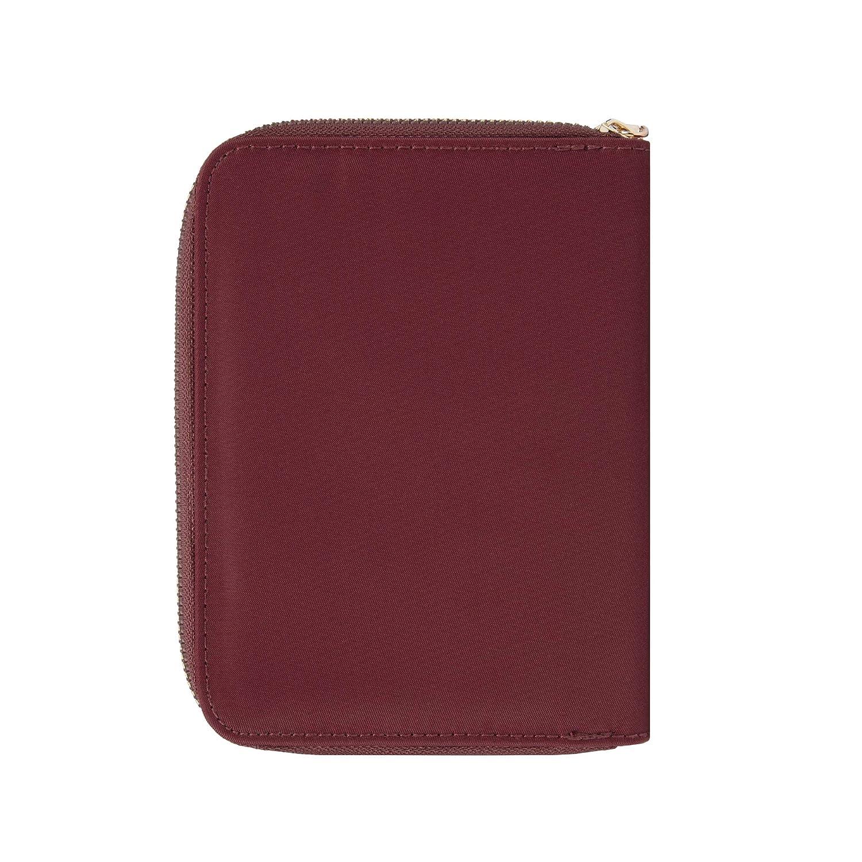 Travelon RFID Blocking Passport Zip Wallet Ocean 43401-332