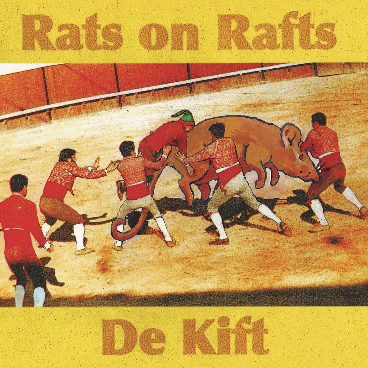 CD : Rats On Rafts - De Kift (CD)